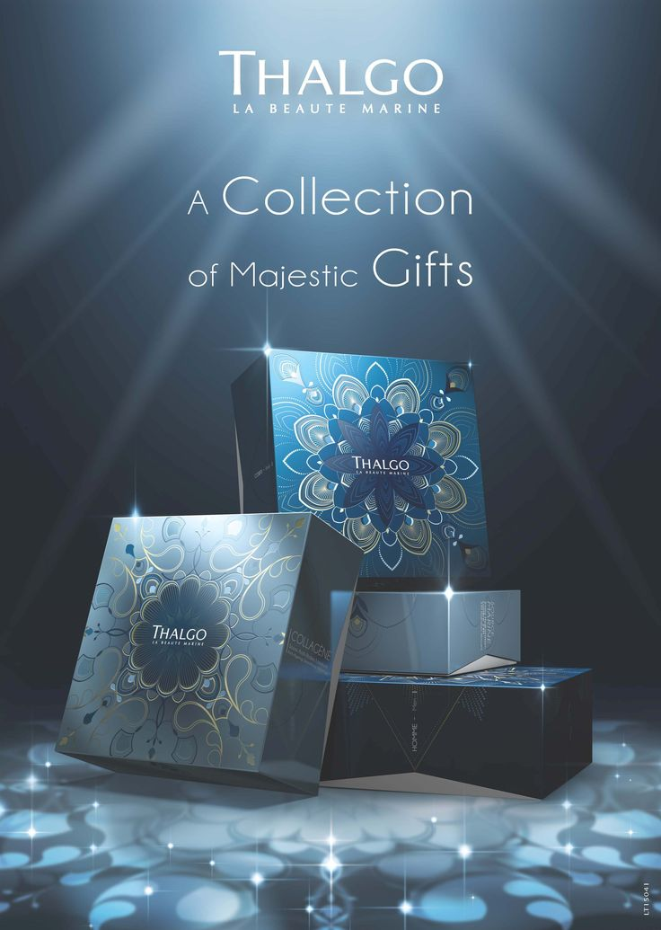 Experience a collection of majestic gifts this Christmas with Thalgo's 2015 Christmas Coffrets.