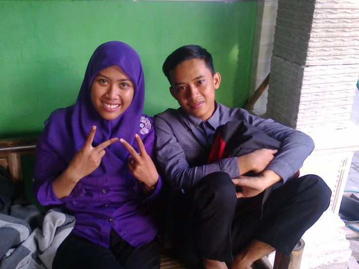 with my brother :v