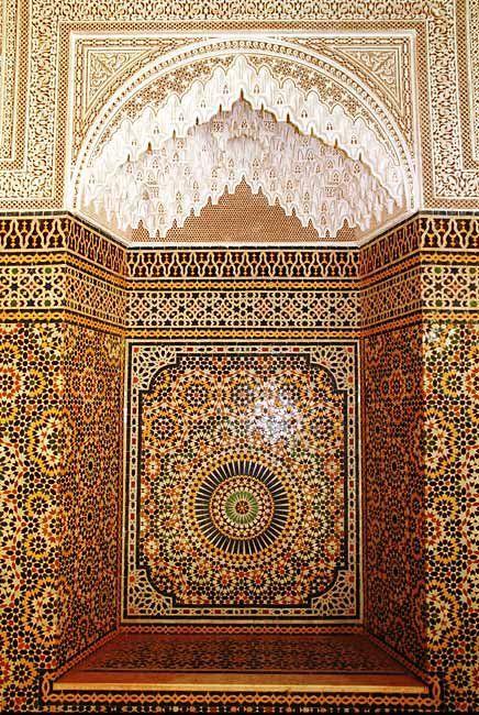 Belle zellige marocaine