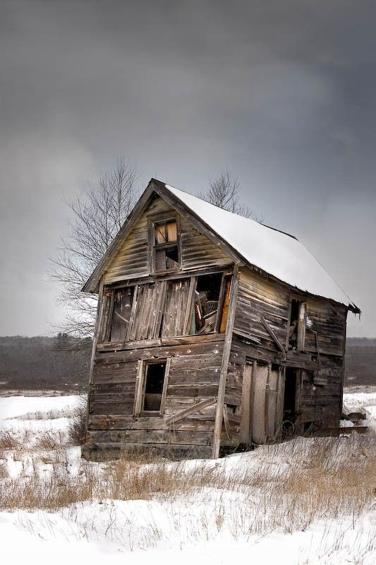 I bet this house is full of great decrepit stuff!