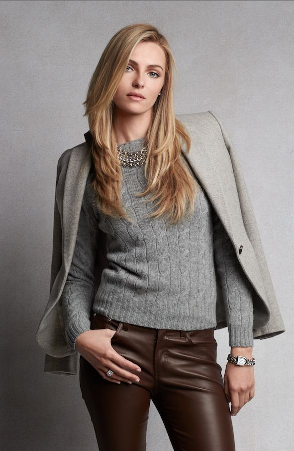 Fall Blazers: Sharp silhouettes cut from fine wool, leather and more from Ralph Lauren