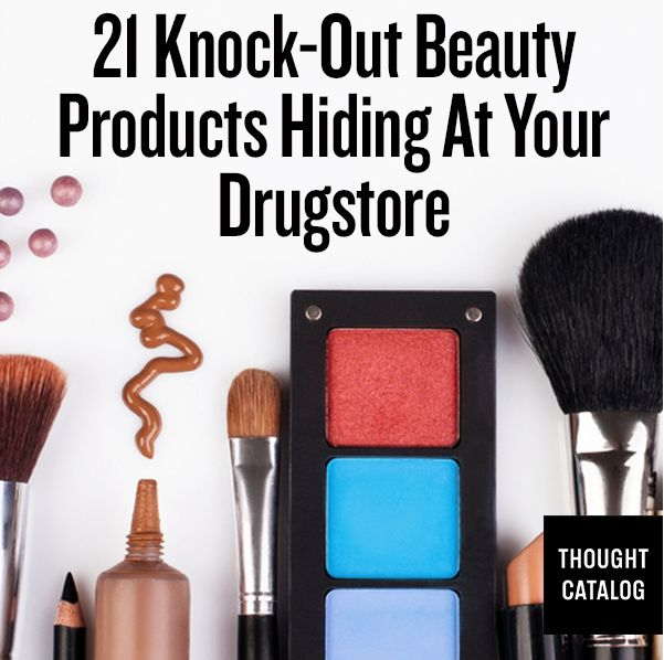 21 Knock-Out Beauty Products Hiding at Your Drugstore