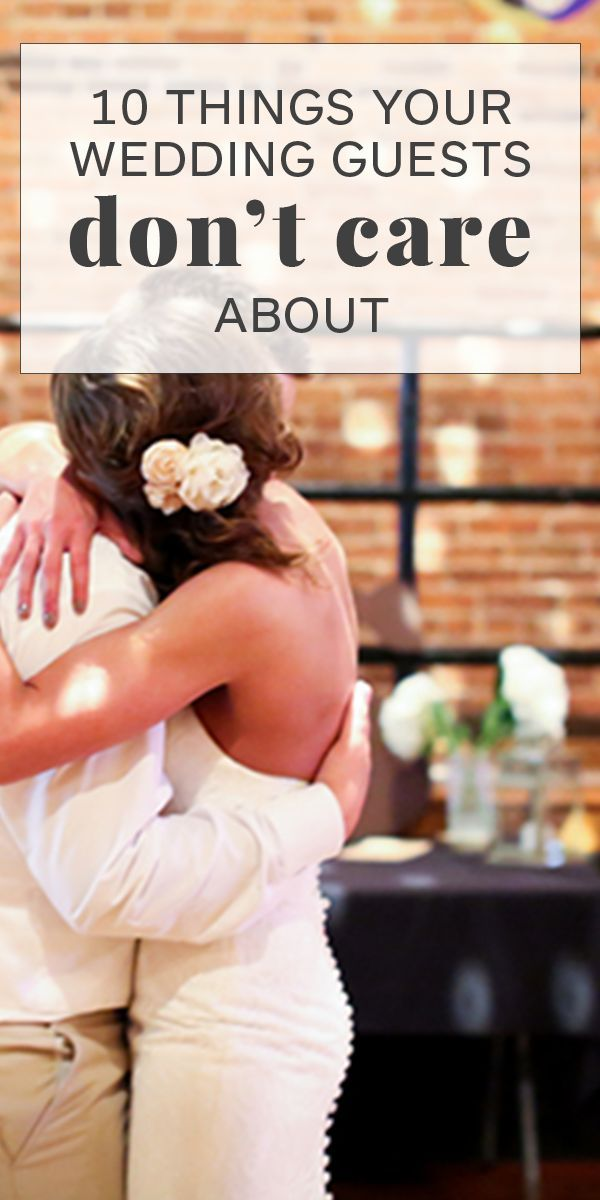 10 Things Your Wedding Guests Dont Care About | Shanna Guidry Photography