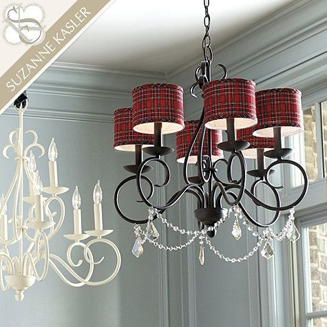 Suzanne Kasler Holiday Chandelier Shades                                                                                                                                                                                 More
