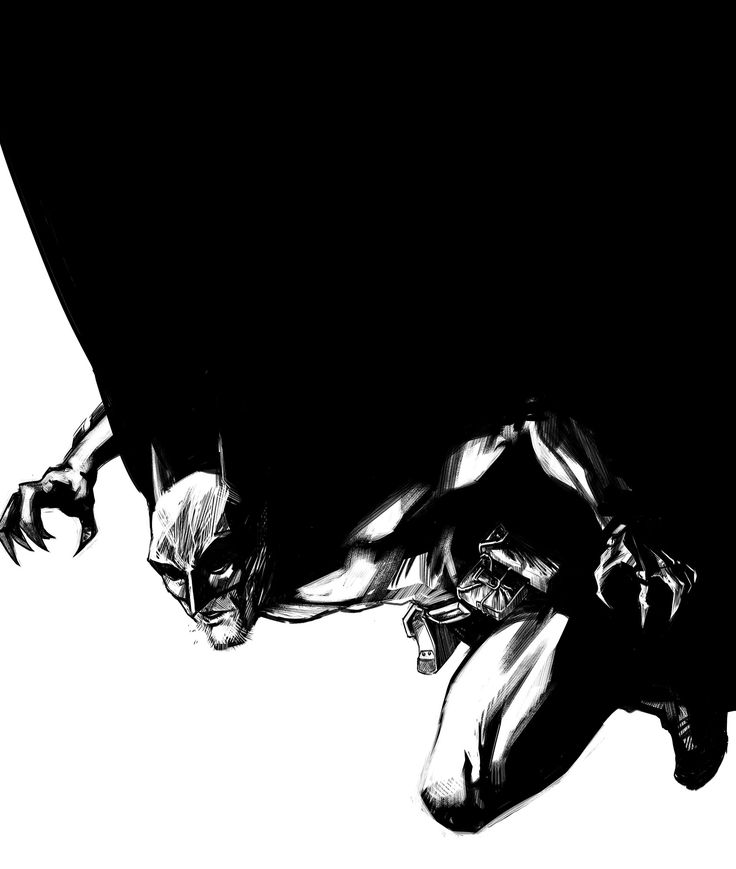 Here's some digital inks of everyone's favourite billionaire dressed as a bat!