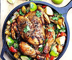 Mexican Roast Chicken - A Classic Redefined