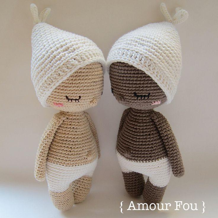 Hoki Crochet Pattern by Amour Fou amigurumi Pinterest ...