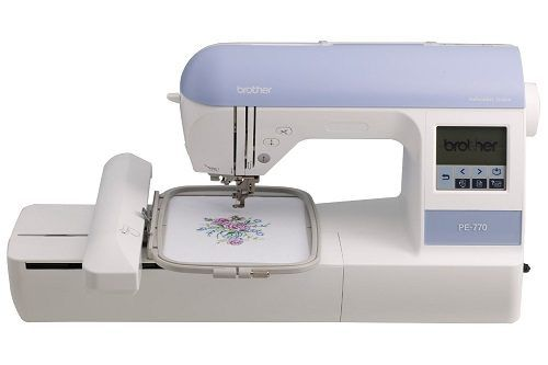 Brother PE770 Embroidery machine review. An ideal introductory device.