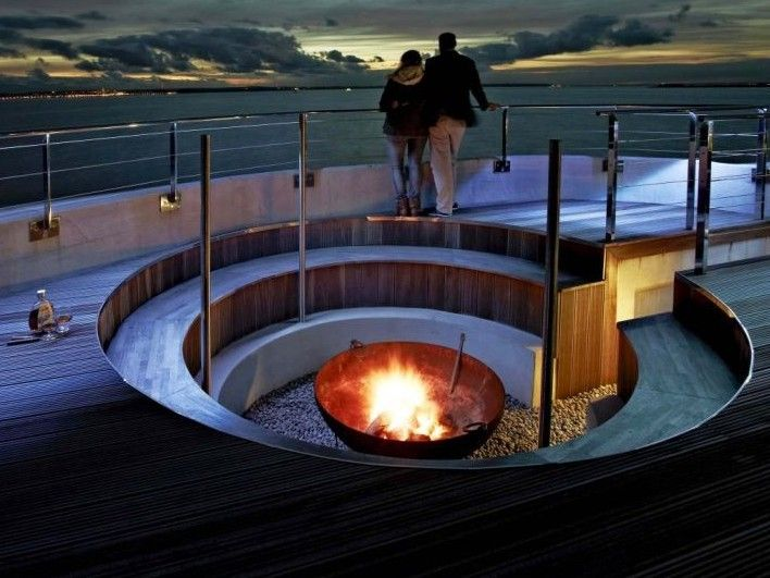 15 Best Images About Sunken Fire Pits On Pinterest Heart