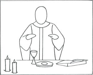 catholic coloring pages mass - photo#17