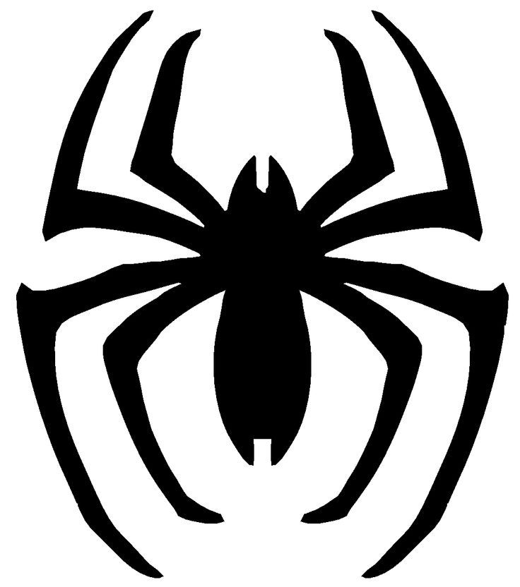 Spiderman printable logo