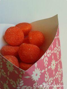 DIY - Cornet à bonbons en carton (à imprimer)