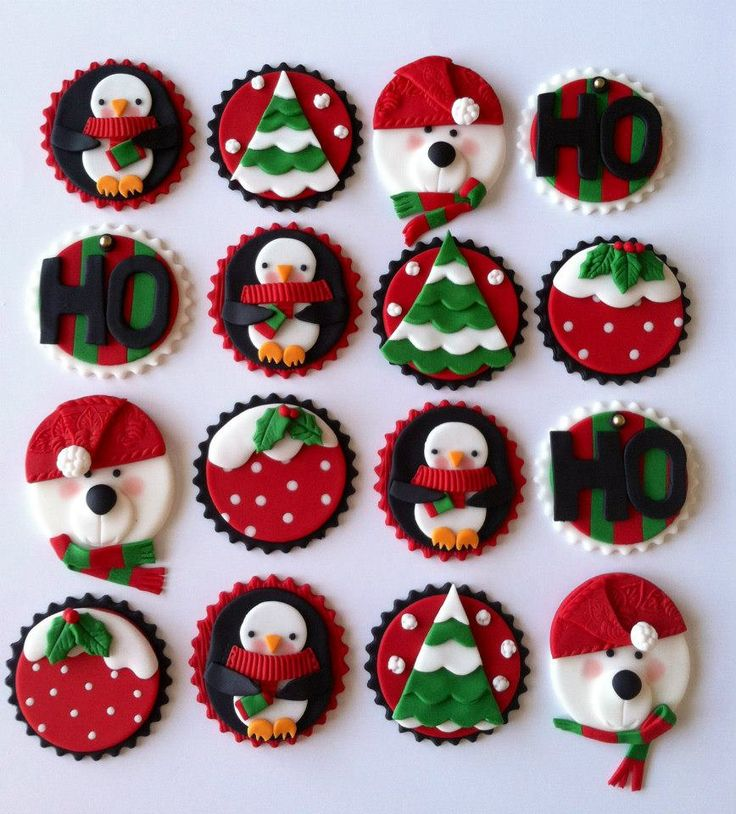 Cakes by Angela Morrison Lovely Xmas cupcake ideas