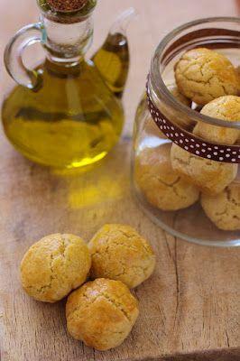 Biscoitos de azeite para presentes de Natal