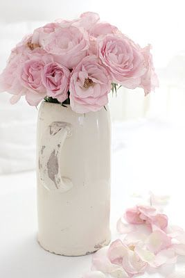 ♥Beautiful Flower, Pink Roses, Favorite Things, Pink Colors, Colors Rose, Glorious Flower, White Water, Chic Pink, Beautiful Things