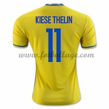 Sverige Landslagströja 2016 Kiese Thelin 11 Hemma Tröjor