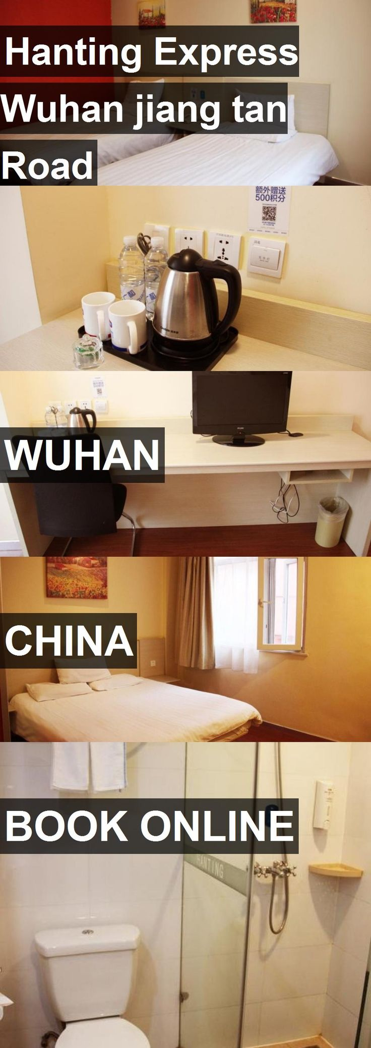 Hotel Hanting Express Wuhan jiang tan Road in Wuhan, China. For more information, photos, reviews and best prices please follow the link. #China #Wuhan #travel #vacation #hotel