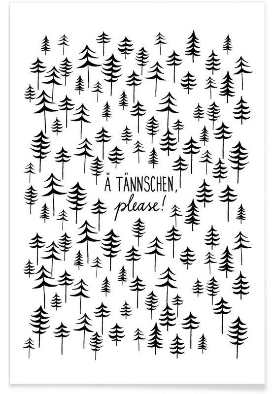 Ä Tännchen - typealive - Premium Poster