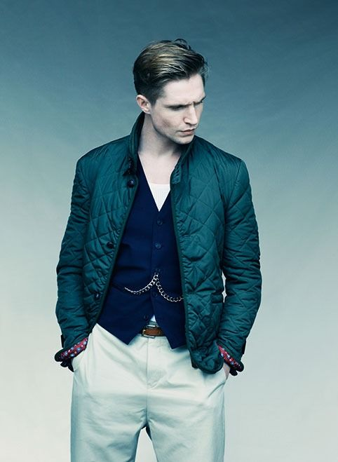 Monty Quilted Jacket #ss13 #olive #quilted #farrell