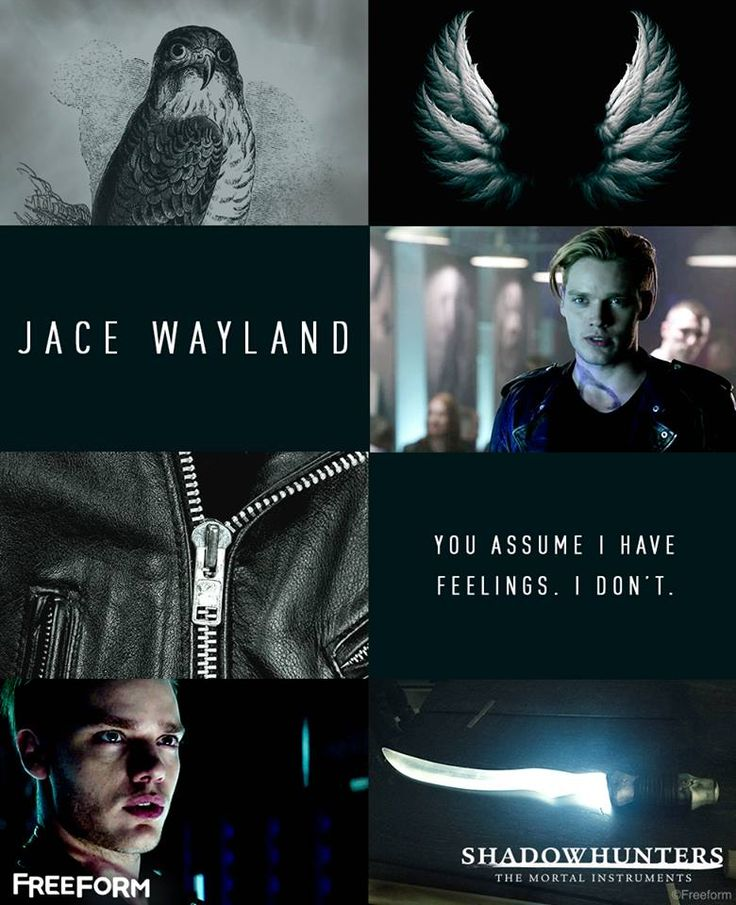 #TMI #Shadowhunters #Jace #Quotes