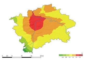 Prague - The city is preparing a concept of adaptation against heat island effect.