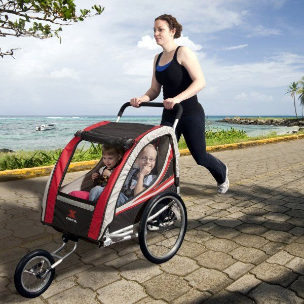 XTERRA Ogden Convertible Bike Trailer and Stroller:Amazon:Baby ...