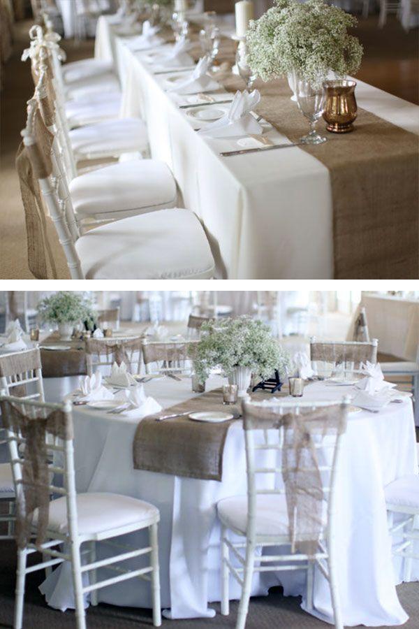 25 Rustic Elegant Wedding Ideas You Will Love Burlap Wedding Table Wedding Table Centerpieces Rustic Wedding Reception Tables Rustic