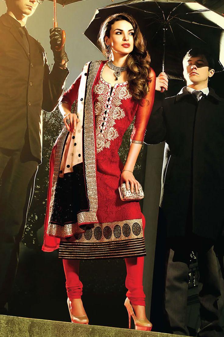 Amisha Patel Anarkali Salwar Suits For Summer 2014 by ...