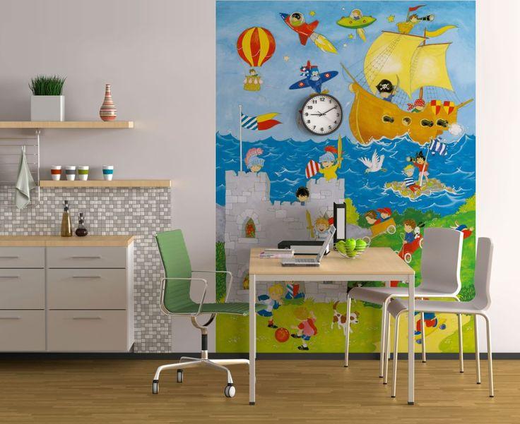 Poster: It's a Boy's World online te koop. Bestel je poster, je 3d filmposter of soortgelijk product 2.5 x 1.8m 4-delig
