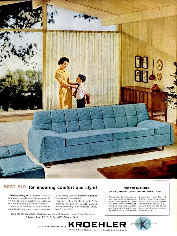 25 best vintage furniture ads images on pinterest chairs for Outdoor furniture 1960 houston