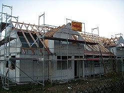 Bau eines Dachstuhls durch Erich u. Oskar Friedel Dachdeckermeister GmbH & Co. in Berlin (12105) | Dachdecker.com