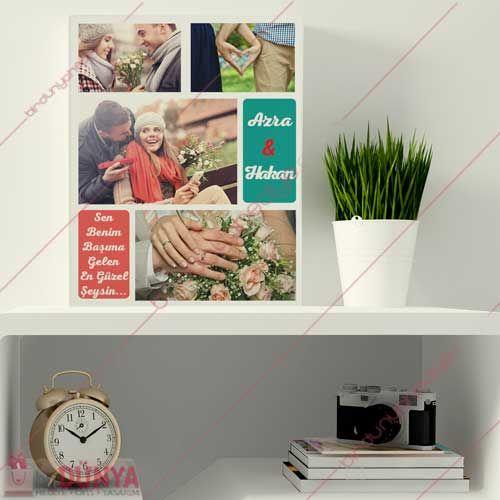 Sevgiliye hediye olarak alabileceğiniz fotoğraf baskılı kanvas hediyenizi kapıda ödeme ile hemen satın alabilirsiniz.