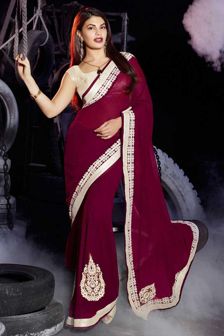 rani georgette sari avec chemisier en soie d'art prix:-56,77 € nouvelle collection de saris concepteur d'arrivée sont maintenant en magasin présenté par Andaaz mode comme rani saree georgette avec chemisier en soie d'art. agrémenté de broderies, patch, Resham, pierre, Zari, concepteur Pallu, asymétrique chemisier col, sans manches, chemisier. cette robe est préfet pour la fête, mariage, fête, cérémonie http://www.andaazfashion.fr/rani-georgette-saree-with-art-silk-blouse-dmv7794.html