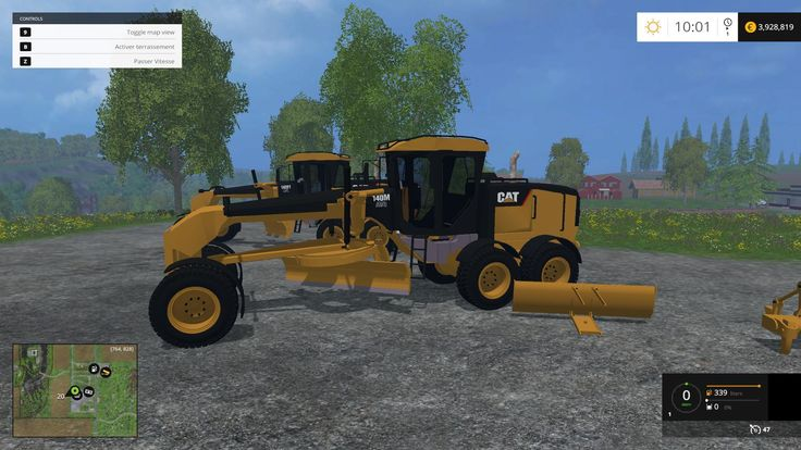 CATERPILLAR 140M TMP TEST BETA V1 MOD Caterpillar 140M TMP Test BETA v1 Author: HUGO94FR If you notice any mistake, please let us know. How to install mods Farming Simulator 2015 game is an...