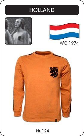 Nederland voetbalshirt WK 1974 Holland retro voetbal truitje football soccer vintage sport COPA