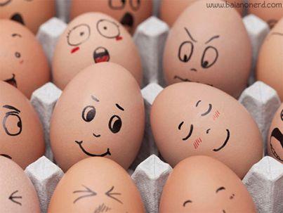 Grappige eieren!