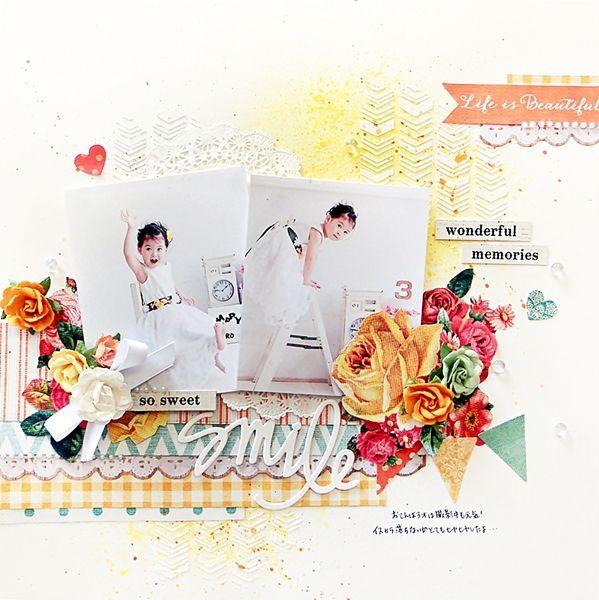 smile~My Creative Scrapbook Limited Edition Kit~ - Scrapbook.com