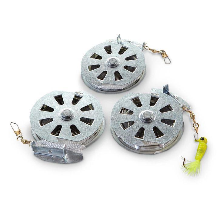 Set of 12 Yo-Yo Auto Fishing Reels