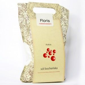 Sól FlorisStworzona w oparciu o powstałą z naturalnych solanek z okolic Bochni sól jodowo
