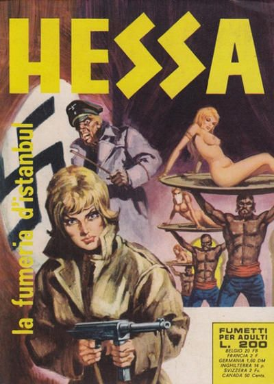 Cover for Hessa (Ediperiodici, 1970 series) #35