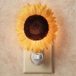Unique Night Light – Floral Theme – Sunflower Blossom Nightlight
