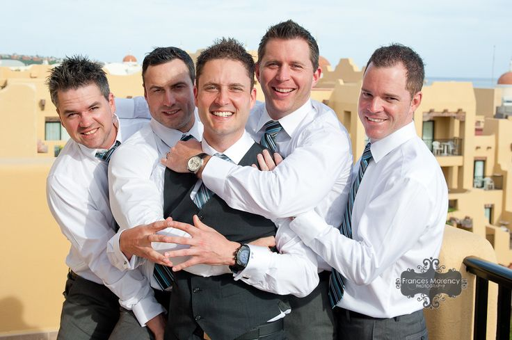 casual fun poses for grooms