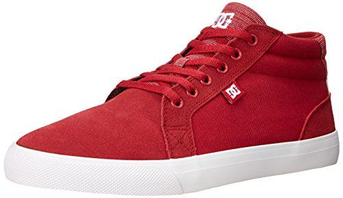 DC Womens Council Mid SE Skate Shoe Red 9 B US -- You can find more details by visiting the image link.