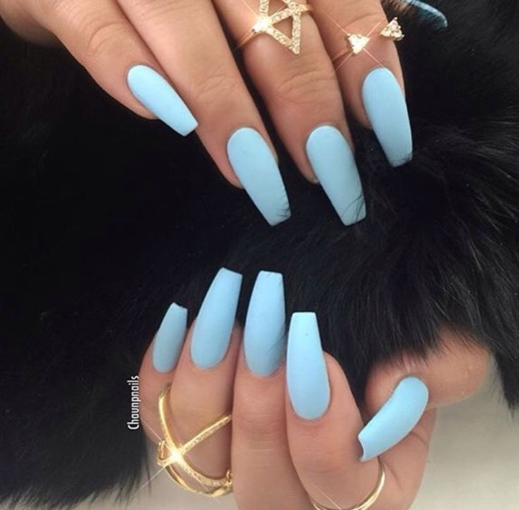 Pin By Jane Cee1 On Beauty Nails Blue Acrylic Nails