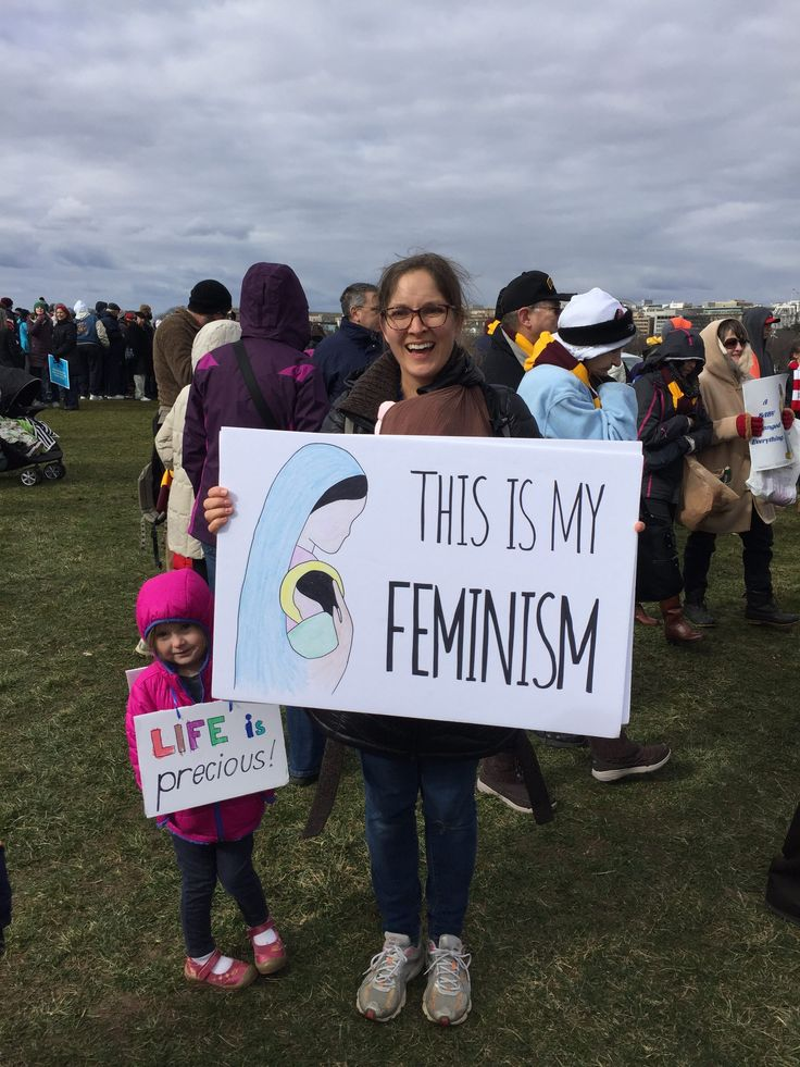 The Best Signs Spotted at the March for Life 2017!   ChurchPOP