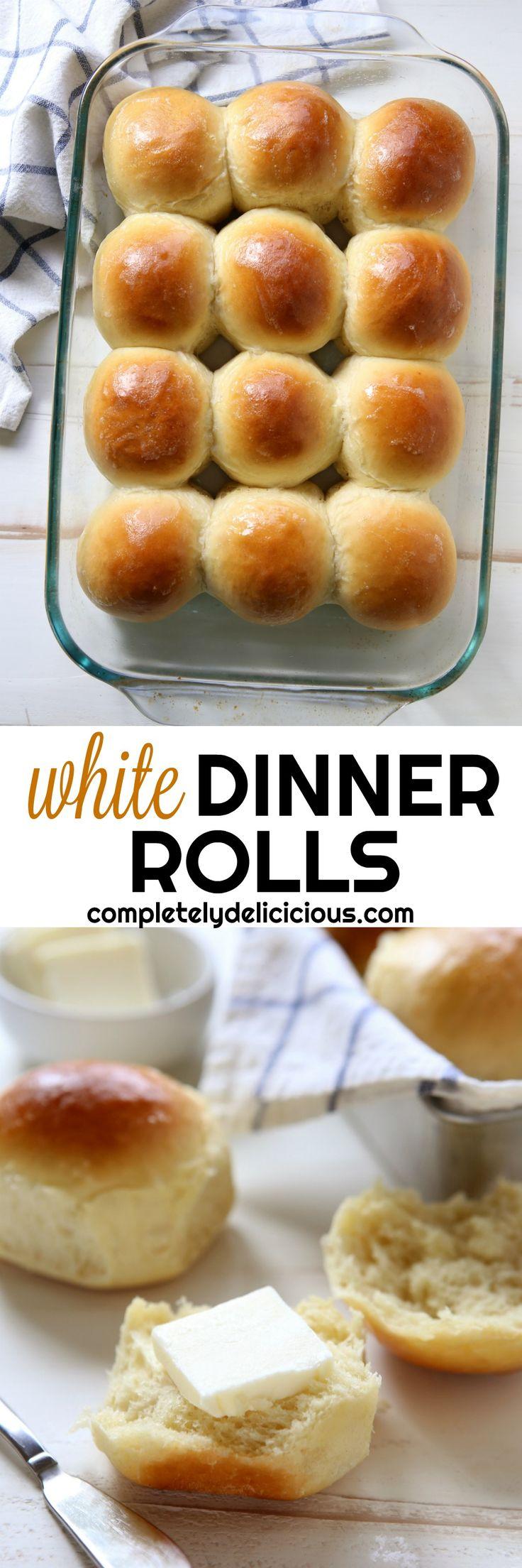 The Best White Dinner Rolls!