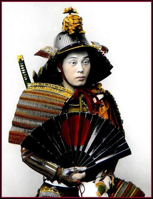 ancient Japanese warrior