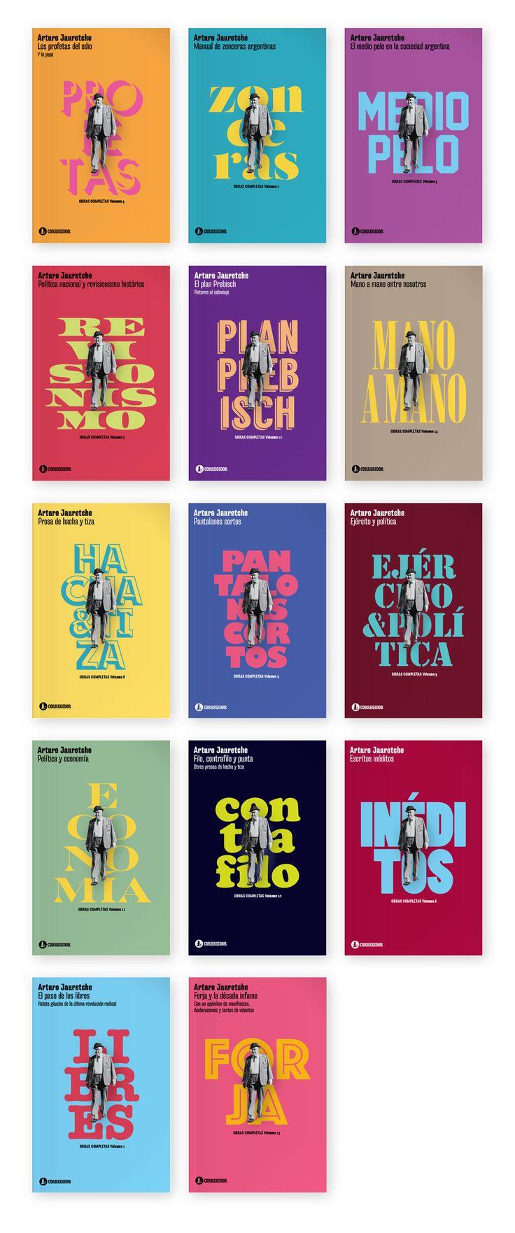 Obras Completas de Arturo Jauretche on Behance