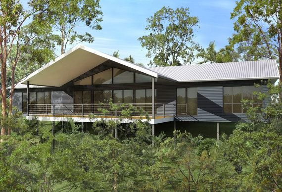 211 m2  4 Bedrooms  Country Kit Home Plan by AustralianHousePlans