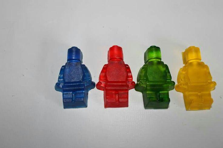 Gomitas Lego 100 % Comestibles.